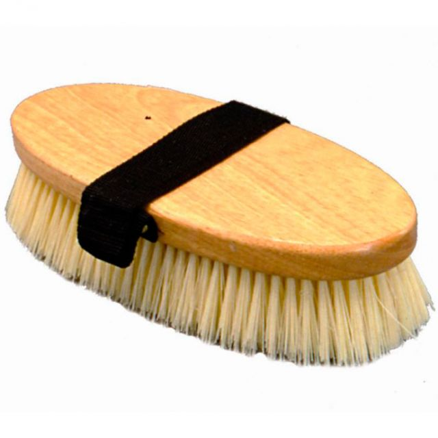 Oval dandy brush