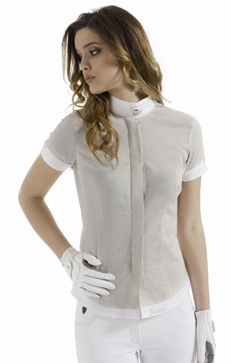 Camisa tattini de mujer manga corta bde6e30b50995