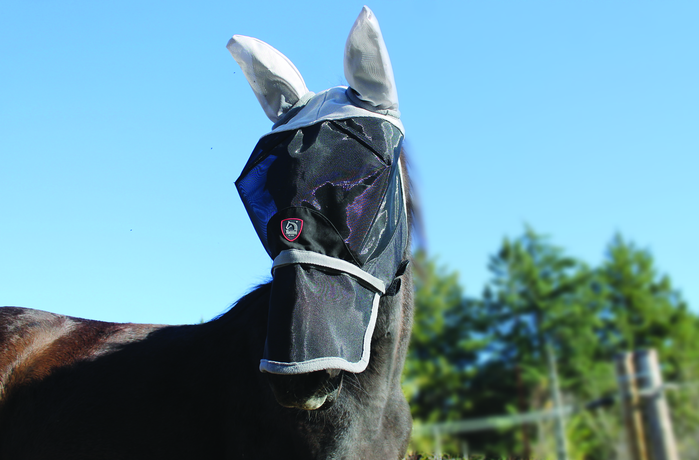 maschera antimosche tattini